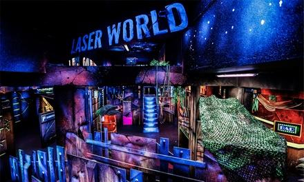1, 2 ou 3 parties de laser game pour 1,2 ou 4 personnes (Offre lundi soir) dès 7,90 € au Laser World