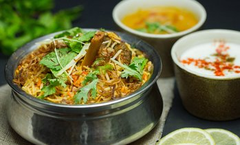 AED 100 Toward Indian Food