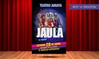 """Entrada al musical """"La Jaula de Grillos"""" del 16 al 26 de marzo desde 18 € en Teatro Amaya"""