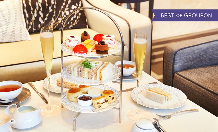 Royal Afternoon Tea for Up to Four, at 5* InterContinental Park Lane (38% Off)