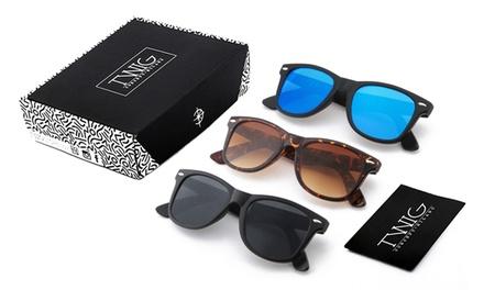 Tris Pack of Twig Sunglasses
