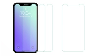 Tempered Glass Screen Protector for iPhone X (1-, 2-, or 3-Pack)