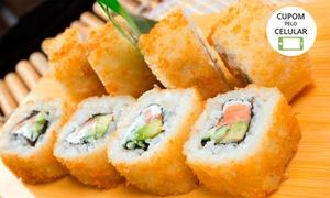 Max Sushi - Setor Marista: Max Sushi - Setor Marista: combinado com 20, 40 ou 80 peças