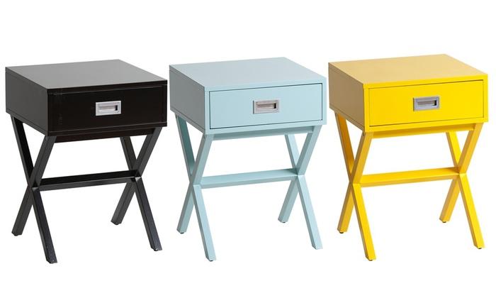 Nachttisch mit schublade  Retro-Nachttisch mit Schublade | Groupon Goods