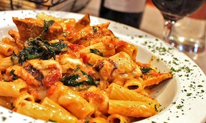 Gino's of Northport: Pizza and Pasta for Dine-In or Carry-Out at Gino's of Northport (Up to 50% Off). Four Options Available.