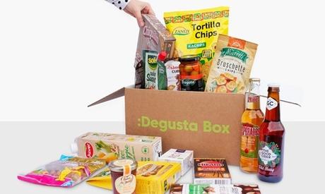 La primera Degusta Box con 10 a 15 productos variados (con 50% de descuento)