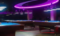 One Hour of PlayStation 4 Gaming or One or Two Hours of Billiards at Club Impulse Cafe By Knight Shot (Up to 57% Off)