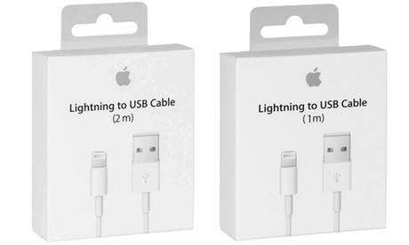 Câble Apple Lightning® vers USB, 1 ou 2 mètres
