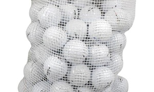 60-Count Recycled B-Grade Golf Balls by Brand