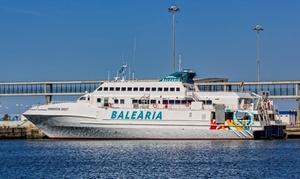 Balearia.com: Buono sconto del 50% su biglietti traghetto Ibiza - Formentera Ibiza fino a 4 adulti, auto opzionale e bambini