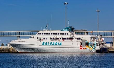 Cupón dto. 50% del billete de ferry Ibiza - Formentera - Ibiza para 1 a 4 pers con opción a coche y a niños desde 2,95 €