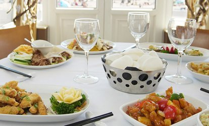 image for Two-Course Chinese Lunch for Two or Four at The Ocean Palace at The Sandbanks (Up to 52% Off)