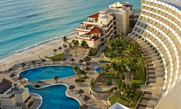 TripAlertz wants you to check out ✈All-Incl. Grand Park Royal Cancún Caribe Stay w/Air. Includes Taxes and Fees. Price/Person Based on Double Occupancy. ✈ All-Inclusive Cancún Stay with Air from Apple Vacations - All-Inclusive Cancún Resort