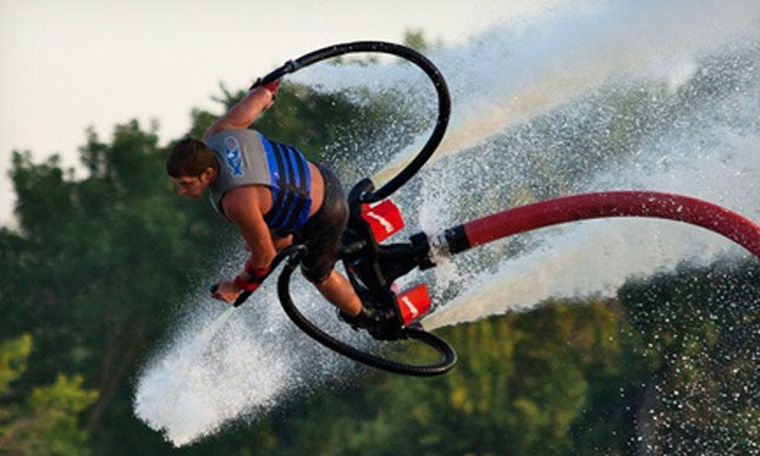 FMB FlyBoard - Getaway Marina, Fort Myers Beach: One 30-Minute Flyboarding Ride for One or Two at FMB FlyBoard (Up to 67% Off)