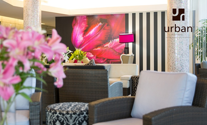 Brisbane, CBD: From $124 for a Balcony Room Stay with Wine and Late Checkout at Hotel Urban Brisbane - Queensland