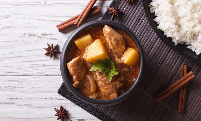 Plern Thai Cuisine - Plern Thai Cuisine: Three-Course Thai Dinner with Wine for Two ($29) or Four People ($55) at Plern Thai Cuisine, CBD (Up to $151 Value)
