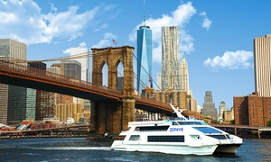 New York Water Taxi: $17 for a Statue of Liberty Express Boat Cruise from New York Water Taxi ($30 Value)