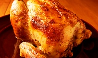 こだわりの国産鶏を使用。スパイスの味付け&柔らかな食感がクセになる≪1~4名でシェア可 / ロティサリーチキン1羽≫ @Le Plus ...