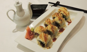 Taste of Asia at Al Ain Palace Hotel: Sushi Platter with a House Drink for Up to Six People at Taste of Asia at Al Ain Palace Hotel (Up to 73% Off)