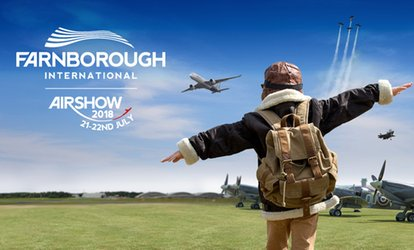 Farnborough International Airshow, 22 July at Farnborough International, Hampshire