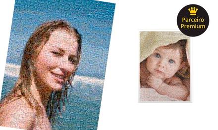 Mosaico de fotos pequeno ou grande com a Uniko