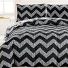 Kensie All-Season Down Chevron Alternative Comforter Set (2- or 3-Pc.)