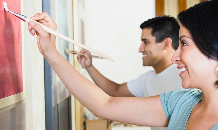 By You Painting - Baton Rouge: $3 for $35 Groupon — By You Painting