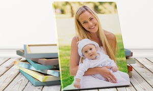 Photo Gifts: One, Two or Three Customised Canvas Prints from Photo Gifts (Up to 87% Off)