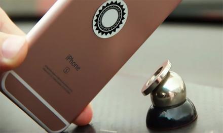 1, 2 o 4 soportes magnéticos de coche para smartphone desde 5,99 € (hasta 84% de descuento)