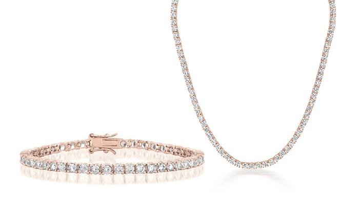 97f78d7ec4e5c Diamond Tennis Jewelry   Groupon Goods