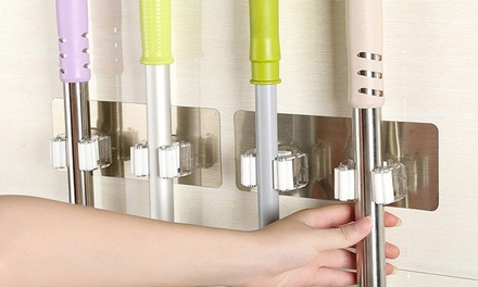 One or Two WallMounted Double Mop Holders