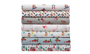 Merry Holiday Printed Sheet Set (3- or 4-Piece)