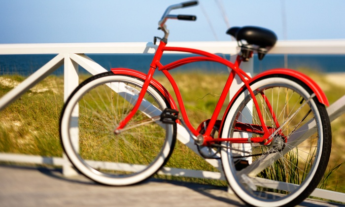 Newport Cruisers - Newport Pier: One or Two Deluxe Bike Tune-ups, or All-Day Rentals for Two at Newport Cruisers (Up to 53% Off)