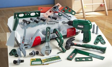 Set giocattolo fai-da-te per bambini da 37 pezzi con o senza 4 batterie AA