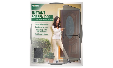 Pop-Up Screen Door