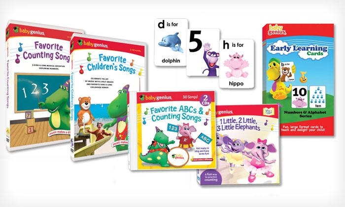 Baby Genius: $19.99 for $50 Worth of Educational Kids' DVDs, CDs, and Books from Baby Genius