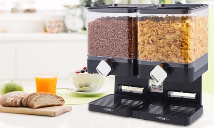Single or Double Square Cereal Dispenser