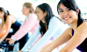 Lady of America Westchester: 10 or 20 Women's Zumba or Spin Classes at Lady of America Westchester (Up to 78% Off)