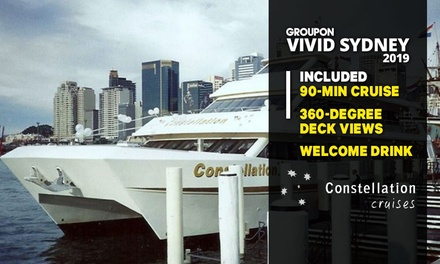 Constellation Cruises: 90Min Vivid Cruise: MonTue $20, WedFri $25, SatSun $30 Up to $65 Value