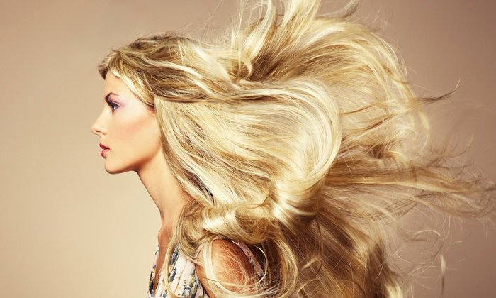 Santa Fe Salon - Athenia: Blowout, or Haircut with Color and Optional Full Highlights at Santa Fe Salon (Up to 54% Off)