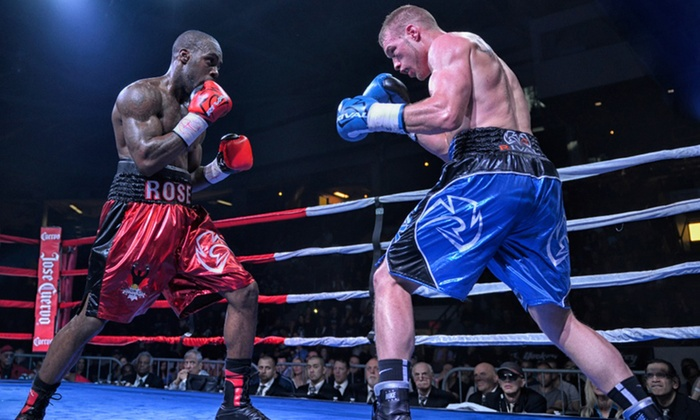 Live Professional Boxing - Barrie: United Boxing Promotions World Championship Boxing on Saturday, May 14, at 7 p.m.