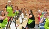 Liquid Canvas - Multiple Locations: Painting Class with Beverages for One, Two, or Four at Liquid Canvas (Up to 44% Off)