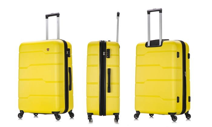 697176ff6b7f Up To 53% Off on DUKAP Spinner Luggage   Groupon Goods