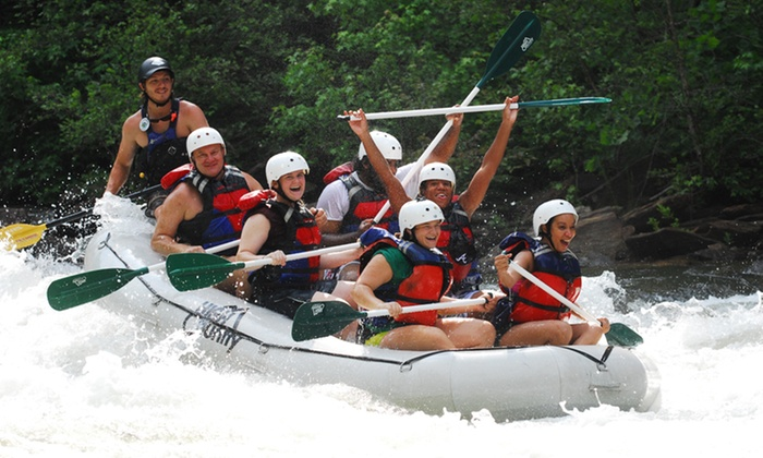High Country Adventures - Apison: Whitewater Rafting on Middle Ocoee River for One, Two, or Six from High Country Adventures (Up to 57% Off)
