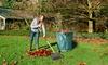 Sac pour déchets de jardin 272 L pliable