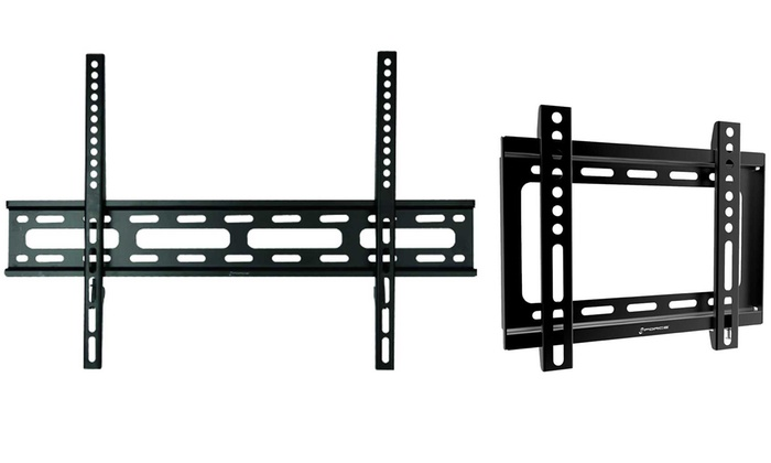 gforce fixed tv wall mounts groupon goods. Black Bedroom Furniture Sets. Home Design Ideas