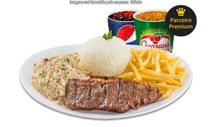 Griletto - Via Shopping BH: Griletto – ViaShopping Barreiro: prato de grelhado, acompanhamentos e bebida para 1 ou 2 pessoas