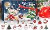 Christmas Pendant Ornaments Advent Calendar