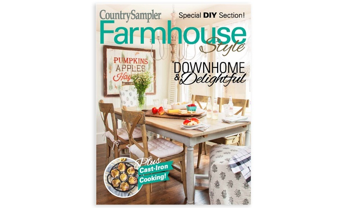 52 Off One Year Farmhouse Style Subscription Groupon