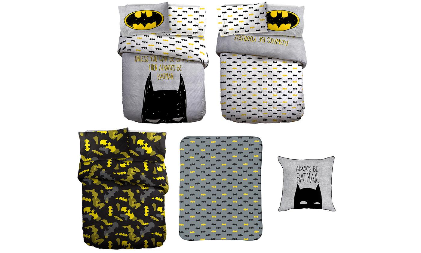 Warner Bros Batman Bedroom Collection for £11